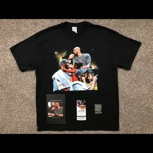 Kobe Bryant Memorial Shirt, Booklet, Ticket & Pin